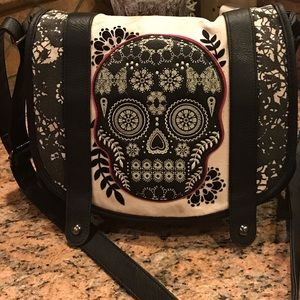 Authentic Loungefly Skull Bag (rare)